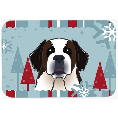 Saint Bernard Kitchen/Bath Mat Size: 24
