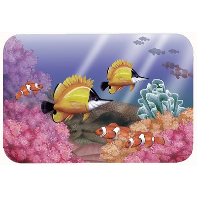 Undersea Fantasy 6 Kitchen/Bath Mat Size: 24 W x 36 L