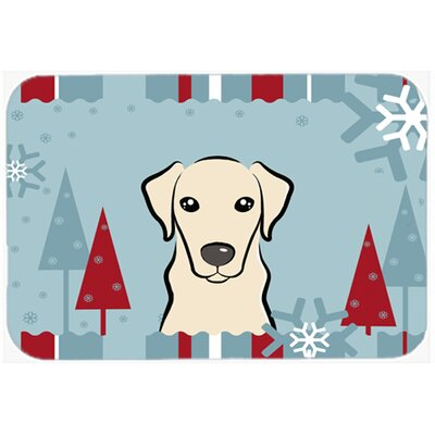 Labrador Kitchen/Bath Mat Size: 20 W x 30 L, Color: Cream