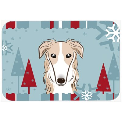 Borzoi Kitchen/Bath Mat Size: 24 W x 36 L