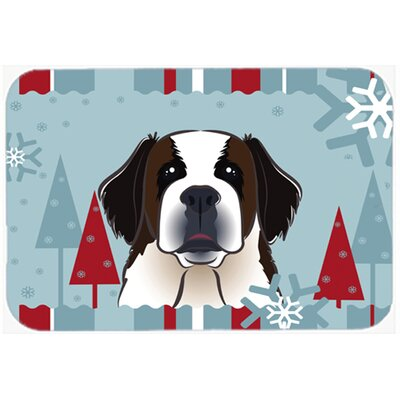 Saint Bernard Kitchen/Bath Mat Size: 20