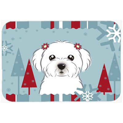 Maltese Kitchen/Bath Mat Size: 24 W x 36 L