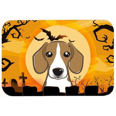Halloween Beagle Kitchen/Bath Mat Size: 20 W x 30 L