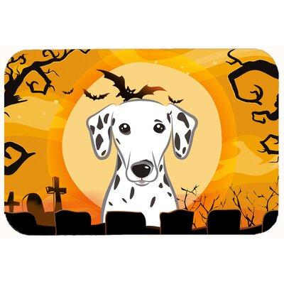 Halloween Dalmatian Kitchen/Bath Mat Size: 24 W x 36 L