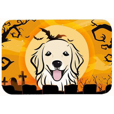 Halloween Retriever Kitchen/Bath Mat Size: 20 W x 30 L