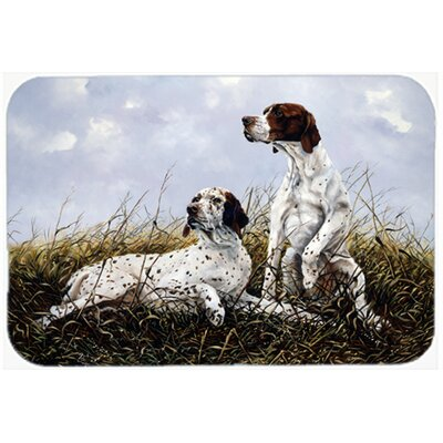 English Pointer by Michael Herring Kitchen/Bath Mat Size: 20 W x 30 L