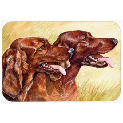 Irish Setters Kitchen/Bath Mat Size: 20 W x 30 L