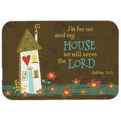 As for Me and My House Kitchen/Bath Mat Size: 24 W x 36 L