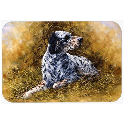 English Setter by Michael Herring Kitchen/Bath Mat Size: 20 W x 30 L