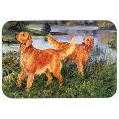 Retrievers Kitchen/Bath Mat Size: 24 W x 36 L