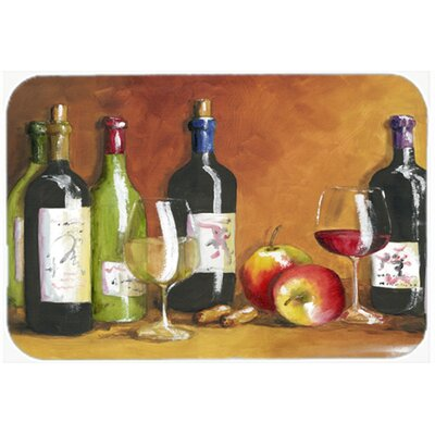 Wine by Malenda Trick Kitchen/Bath Mat Size: 20 W x 30 L