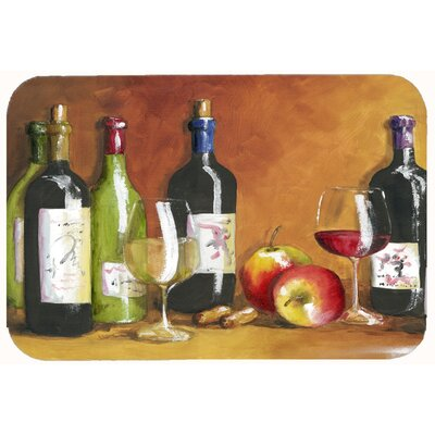 Wine by Malenda Trick Kitchen/Bath Mat Size: 24 W x 36 L