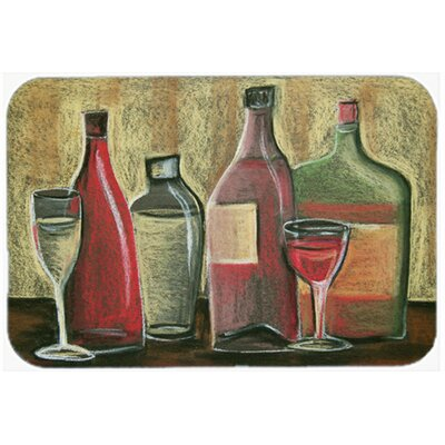 Wine by Tiffany Budd Kitchen/Bath Mat Size: 24 W x 36 L