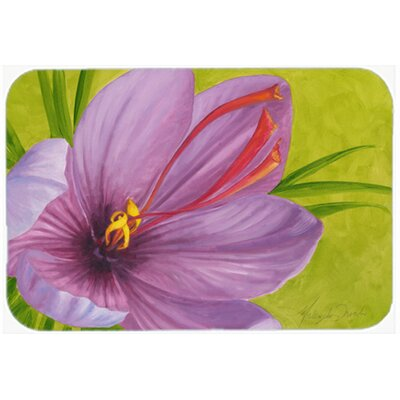 Floral by Malenda Trick Kitchen/Bath Mat Size: 24 W x 36 L