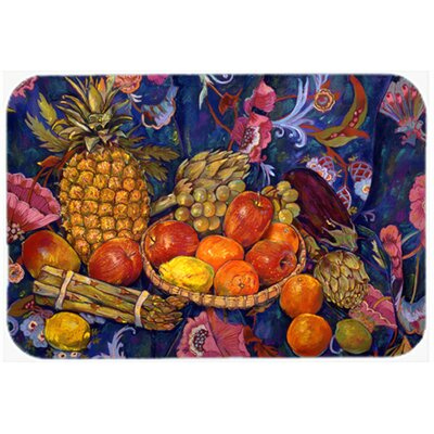 Fruit and Vegetables by Neil Drury Kitchen/Bath Mat Size: 24 W x 36 L
