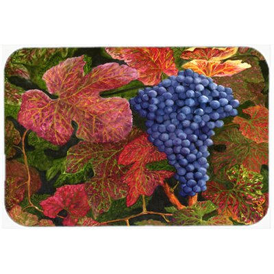 Grapes of Joy by Malenda Trick Kitchen/Bath Mat Size: 24 W x 36 L
