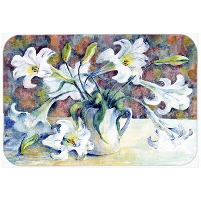 Donvers Lillies Kitchen/Bath Mat Size: 24 W x 36 L