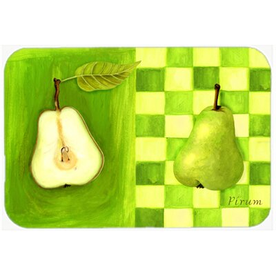 Donohoe Pear by Ute Nuhn Kitchen/Bath Mat Size: 24 W x 36 L