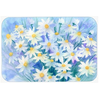 Light and Airy Daisies Kitchen/Bath Mat Size: 24 W x 36 L
