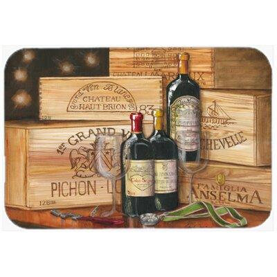 Wine Gran Vin by Malenda Trick Kitchen/Bath Mat Size: 20 W x 30 L