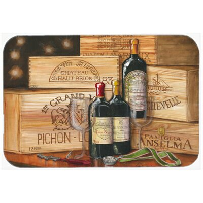 Wine Gran Vin by Malenda Trick Kitchen/Bath Mat Size: 24 W x 36 L