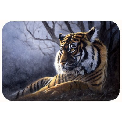 Bengal Tiger by Daphne Baxter Kitchen/Bath Mat Size: 20 W x 30 L