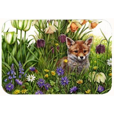 Fox by Debbie Cook Kitchen/Bath Mat Size: 24 W x 36 L