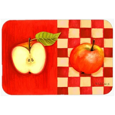 Apple by Ute Nuhn Kitchen/Bath Mat Size: 24 W x 36 L
