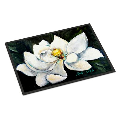 Sweet Magnolia Doormat Mat Size: Rectangle 16 x 23