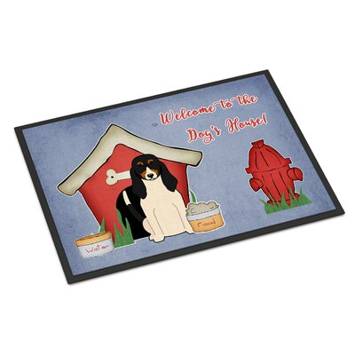 Dog House Swiss Hound Doormat Rug Size: 2 x 3