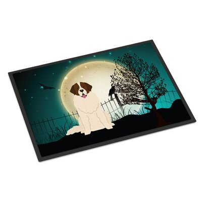 Halloween Scary Moscow Watchdog Doormat Mat Size: Rectangle 16 x 23
