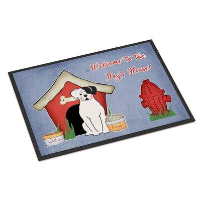 Dog House Boxer Cooper Doormat Rug Size: 16 x 23