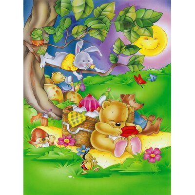 Picnic Time Animals 2-Sided Garden Flag APH0976GF