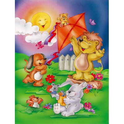 Play Time Animals 2-Sided Garden Flag APH0975GF
