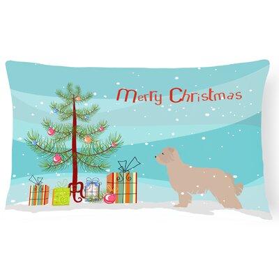 Pyrenean Shepherd Indoor/Outdoor Lumbar Pillow