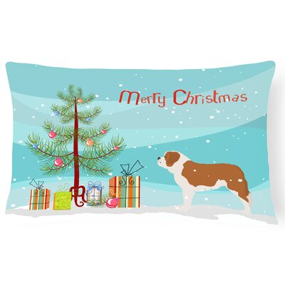 Saint Bernard Indoor/Outdoor Lumbar Pillow