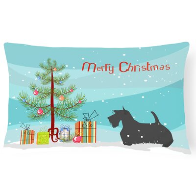 Scottish Terrier Indoor/Outdoor Lumbar Pillow