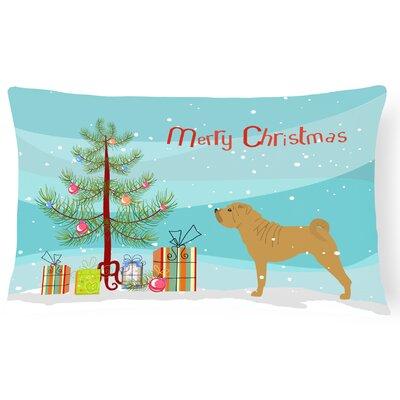 Shar Pei Indoor/Outdoor Lumbar Pillow