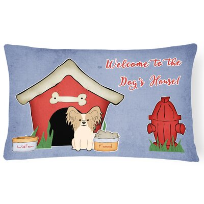 Wildlife Dog House Indoor/Outdoor Lumbar Pillow Color: Sable
