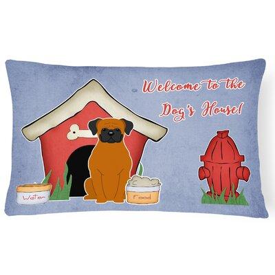 Dog House Indoor/Outdoor Lumbar Pillow Color: Fawn