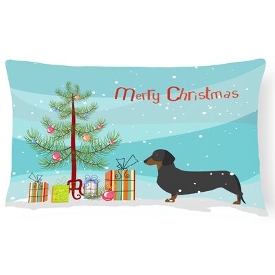 Dachshund Indoor/Outdoor Lumbar Pillow