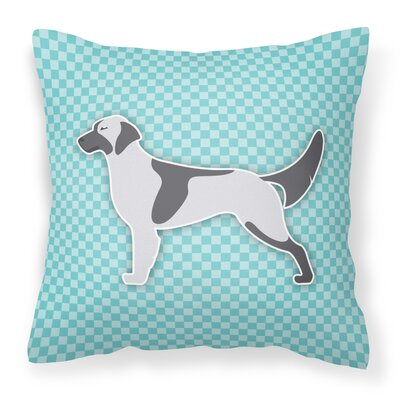English Setter Indoor/Outdoor Throw Pillow Size: 18