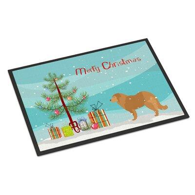 Caucasian Shepherd Dog Door Mat Rug Size: 16 x 23