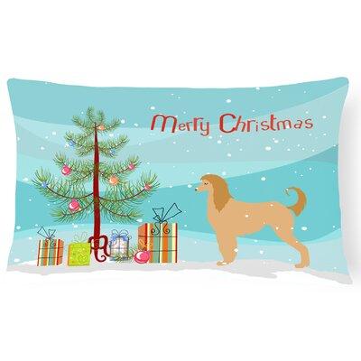 Afghan Hound Indoor/Outdoor Lumbar Pillow