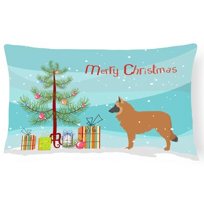 Belgian Shepherd Indoor/Outdoor Lumbar Pillow