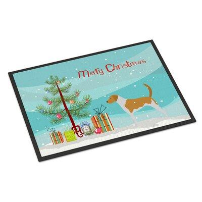 American Foxhound Door Mat Mat Size: 2 x 3