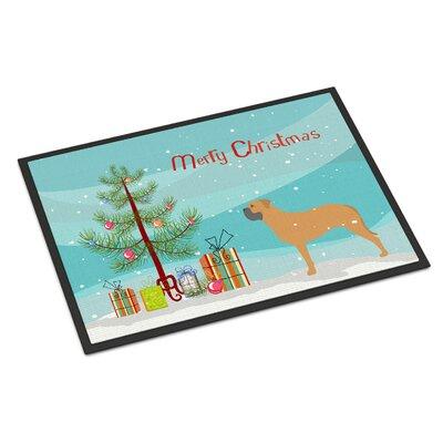 Bullmastiff Door Mat Rug Size: 2 x 3