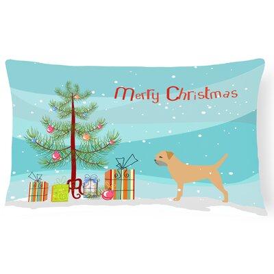 Border Terrier Indoor/Outdoor Lumbar Pillow