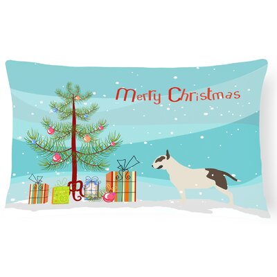 Bull Terrier Indoor/Outdoor Lumbar Pillow