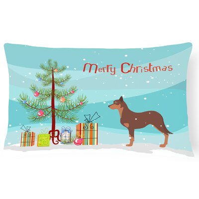 Australian Kelpie Indoor/Outdoor Lumbar Pillow